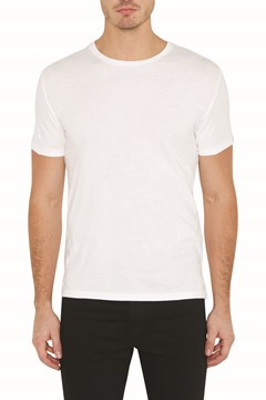 Slim 2 Pack Crew Tee WHITE WHITE 1