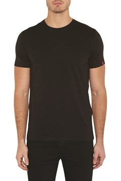 Slim 2 Pack Crew Tee BLACK BLACK 1