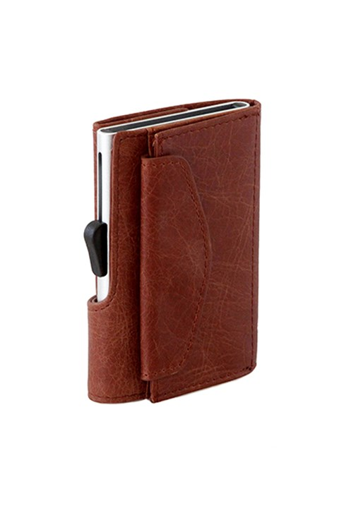 Coin Wallet - cognac
