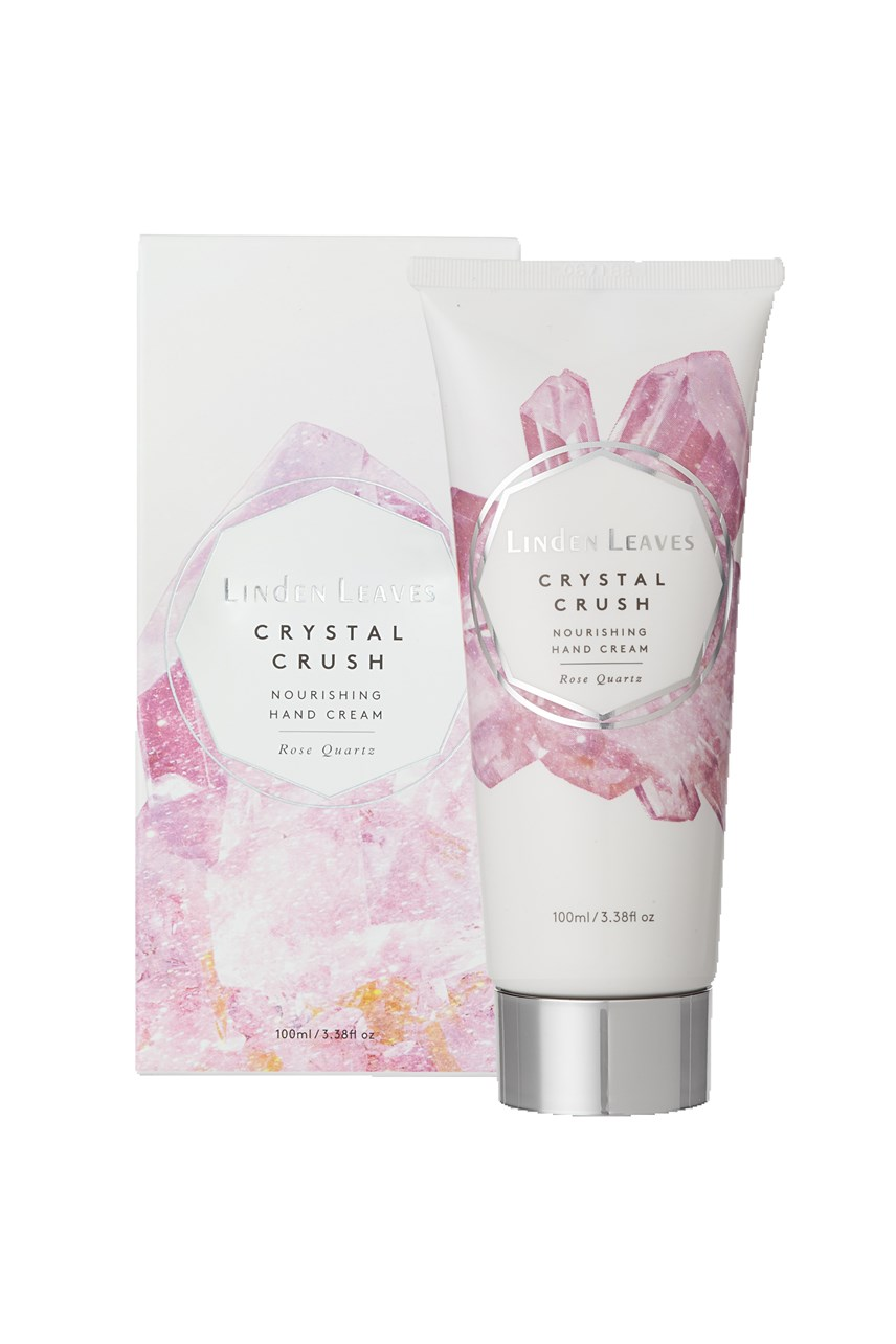 Crystal Crush Nourishing Hand Cream - Rose Quartz