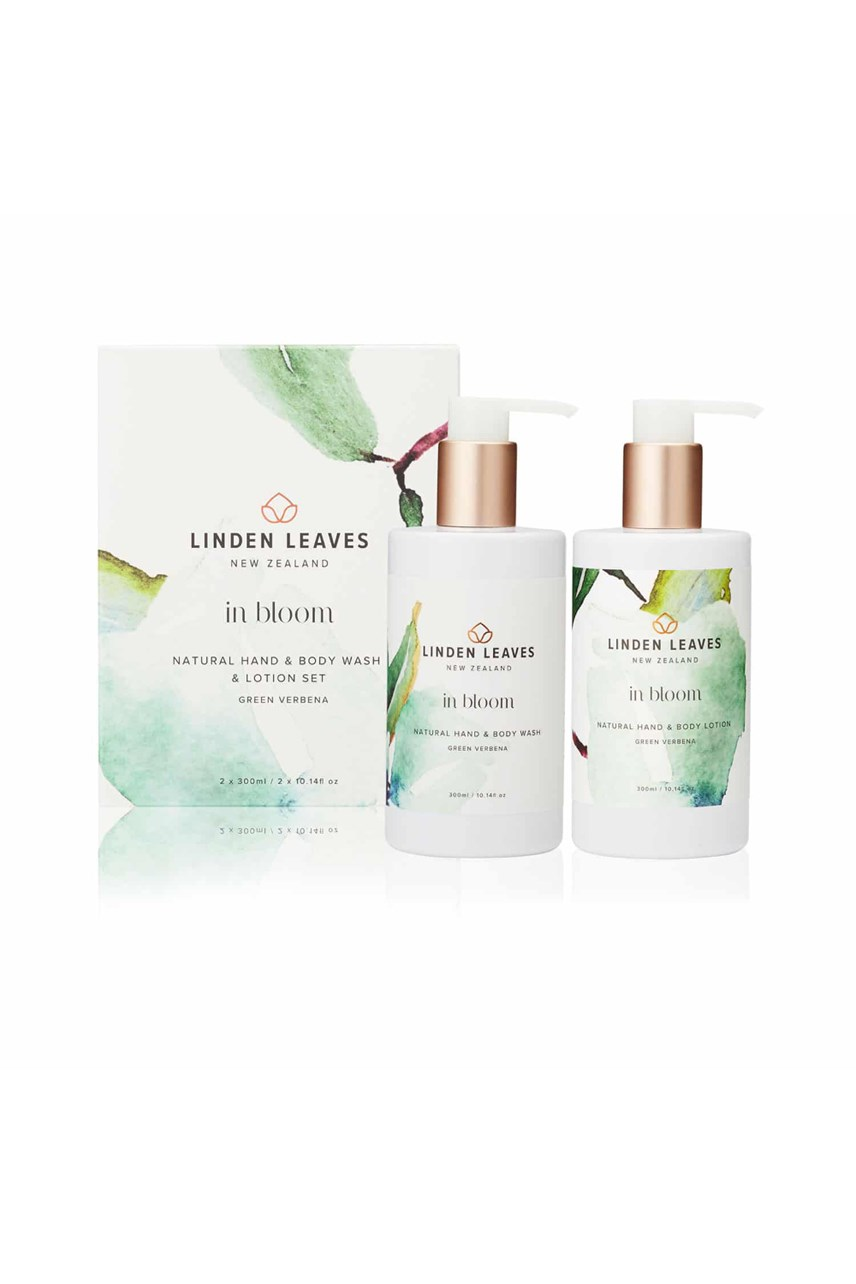 Green Verbena Hand & Body Wash & Lotion Boxed Set