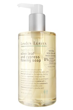 Herbalist Olive Leaf And Cypress Flowing Soap -
