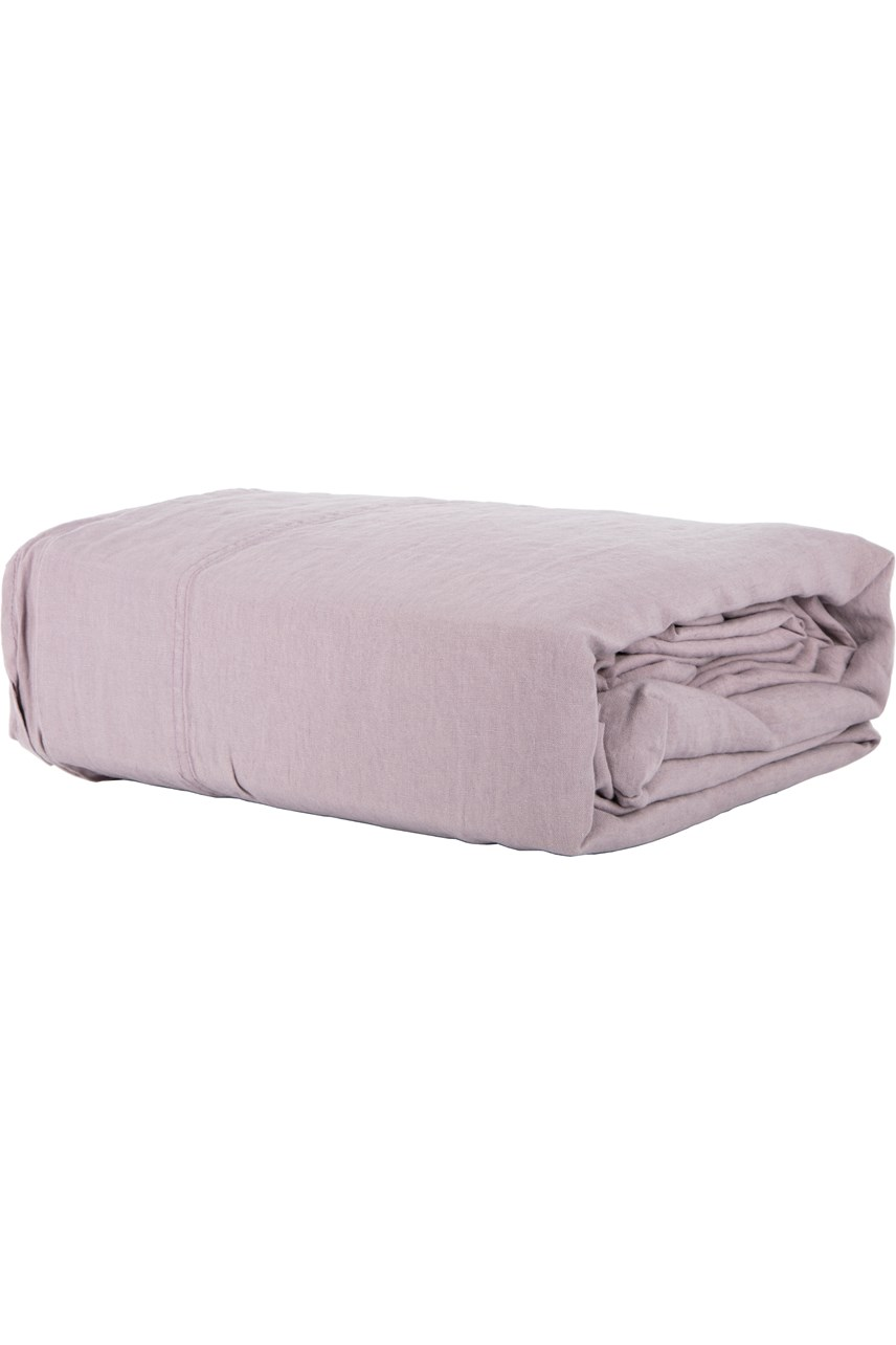 Linen Sheet Set - Lila