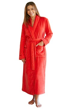 Fiesta Shawl Robe RED 1