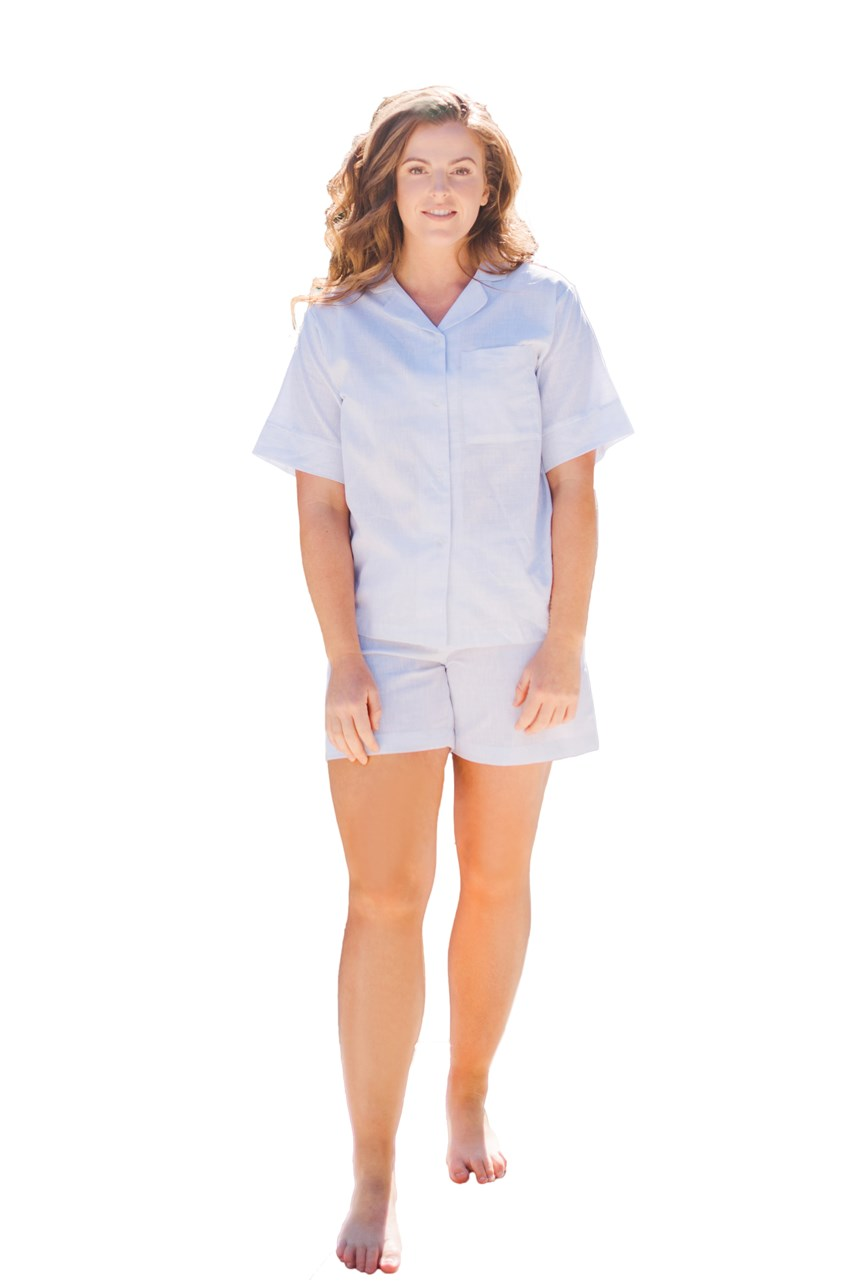 Blair Linen Classic Short PJ Set