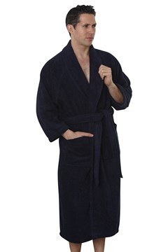 Terry Robe Navy 1