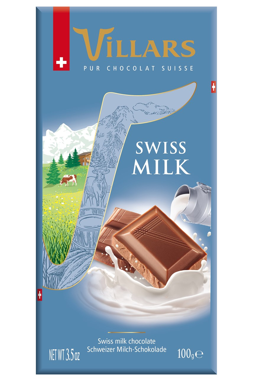 Classic Swiss Milk Chocolate Bar