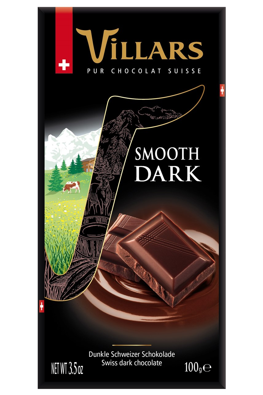 Classic Swiss Smooth Dark Chocolate Bar