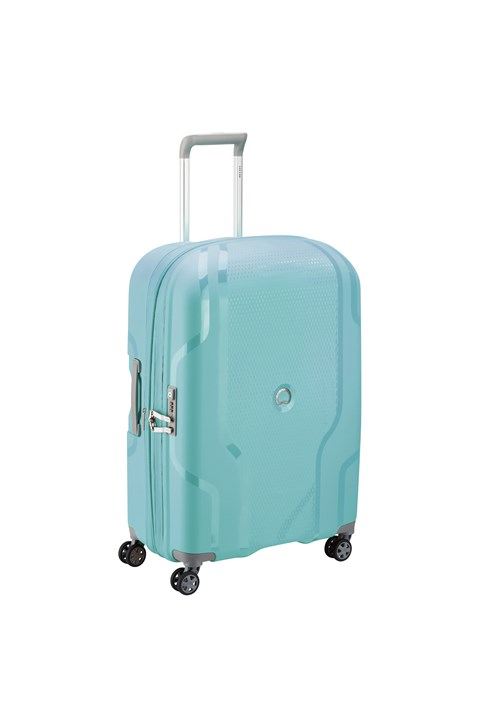 Clavel 4 Double Wheel Trolley Case - 71cm - teal