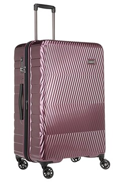 Viva 4 Wheel Roller Case - Large - aubergine