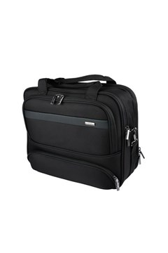 Verage Elite Laptop Satchel BLACK 1