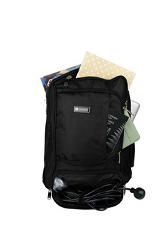 Laptop Backpack BLACK 1