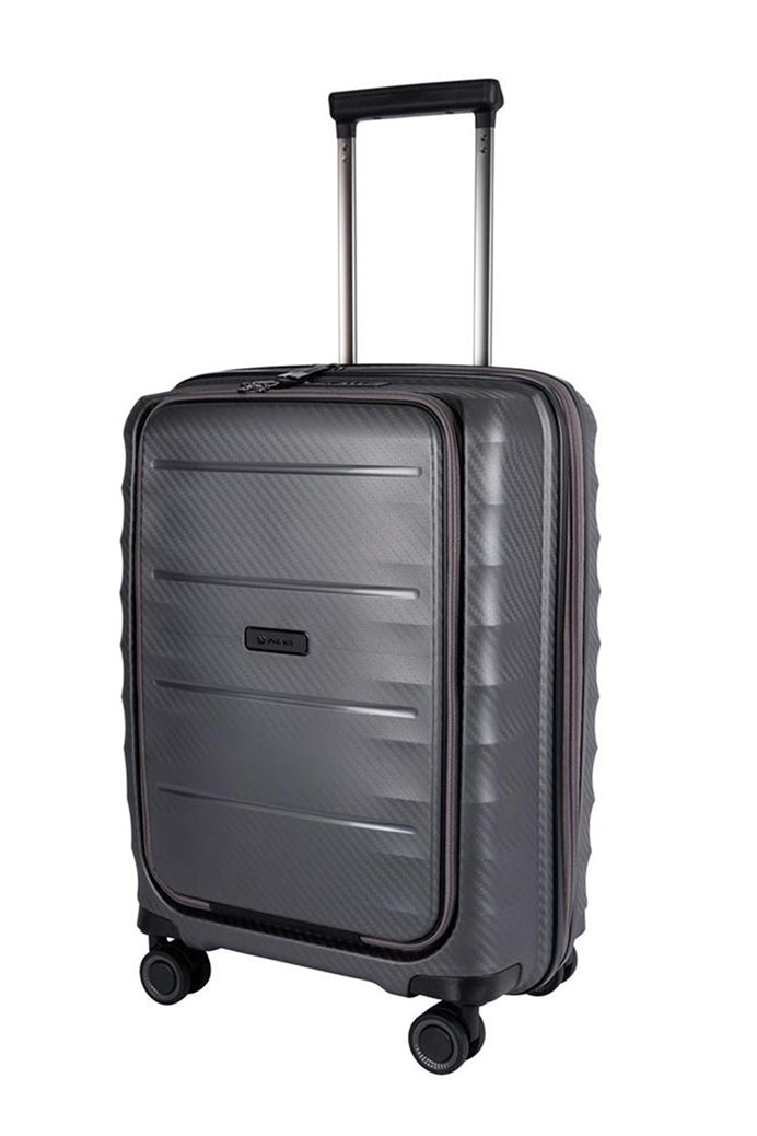 Boston Polypropyle 4 Wheel Suitcase - Cabin
