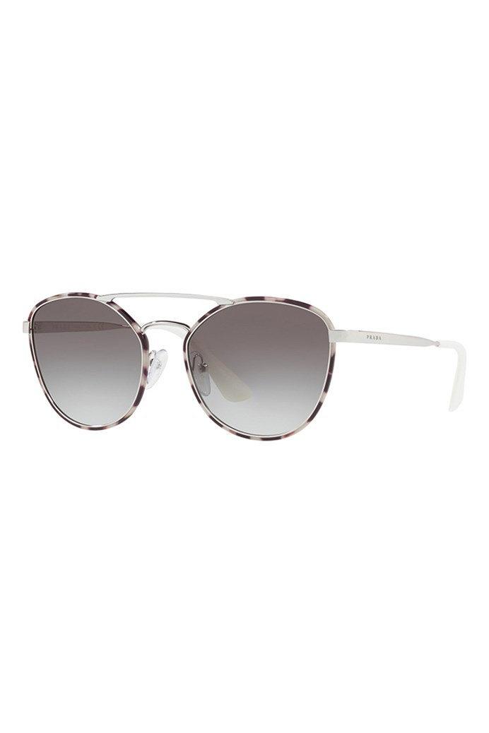 d769b4ad79 Rounded Sunglasses - PRADA - Smith   Caughey s - Smith and Caughey s