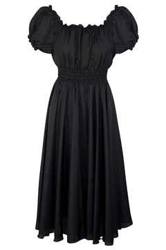 Katie Dress - black silk