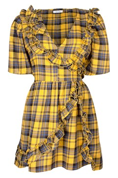 Cha Cha Mini GOLD PLAID 1