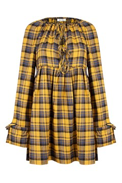 Selma Mini GOLD PLAID 1