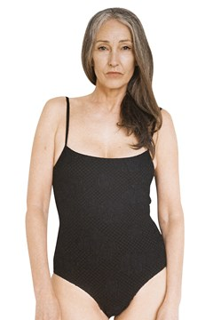 Maisie Swimsuit - black puff