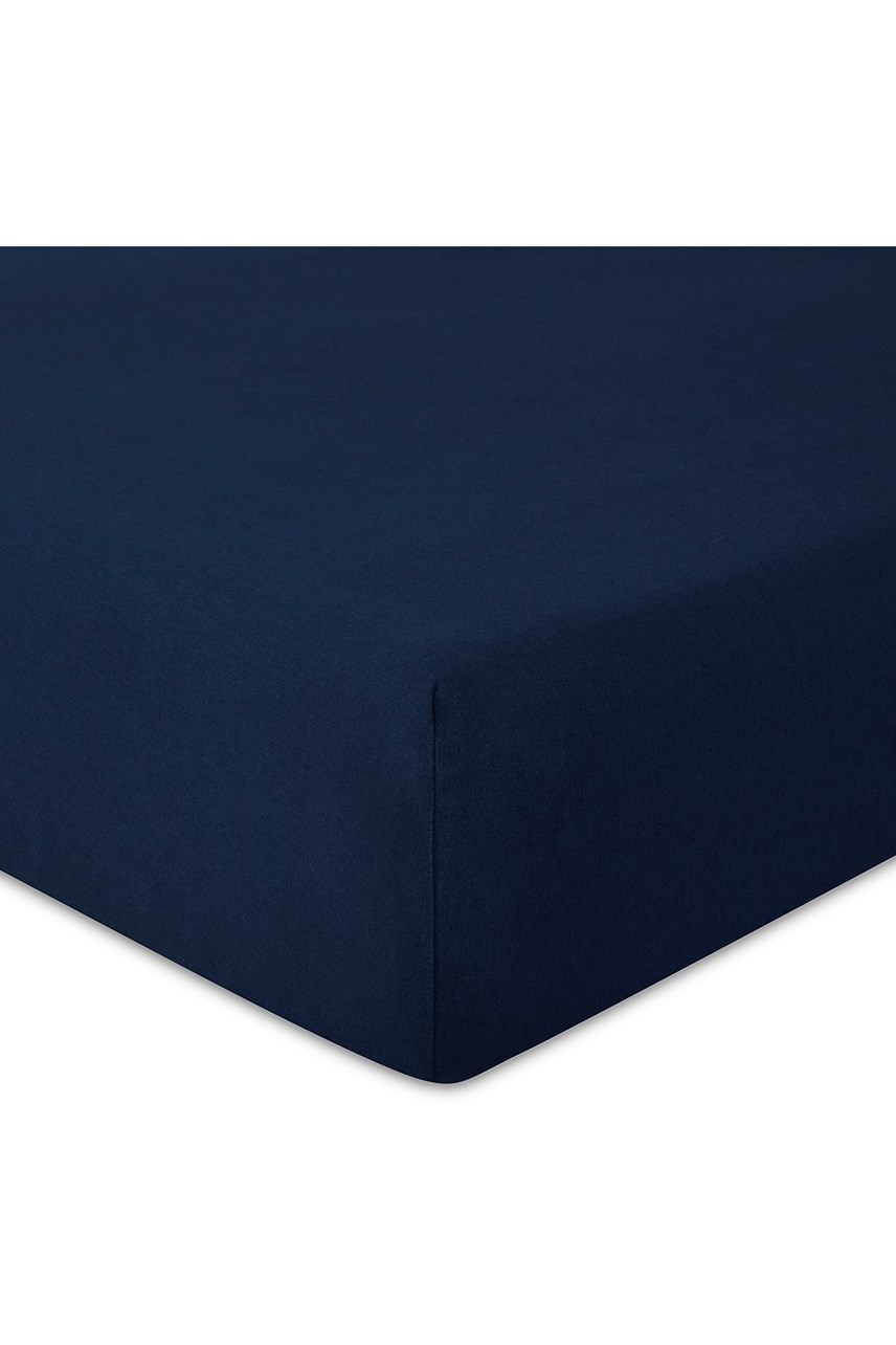 Harrison Fitted Sheet - Navy