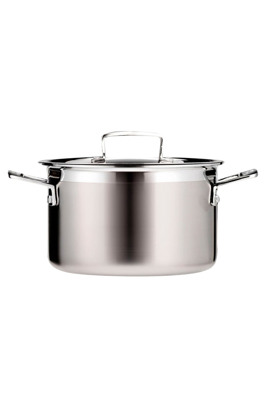 3-Ply Stainless Steel Deep Casserole 20cm