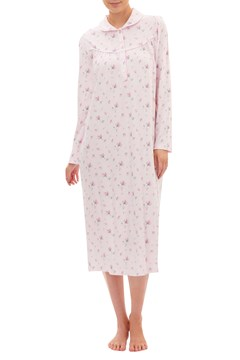 Rosebud Mid-length Nightie PINK 1