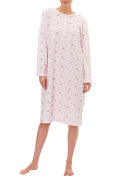 Rosebud Short Nightie PINK 1