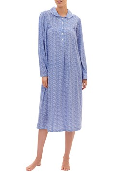 Amelia Mid-Length Nightie IRIS 1