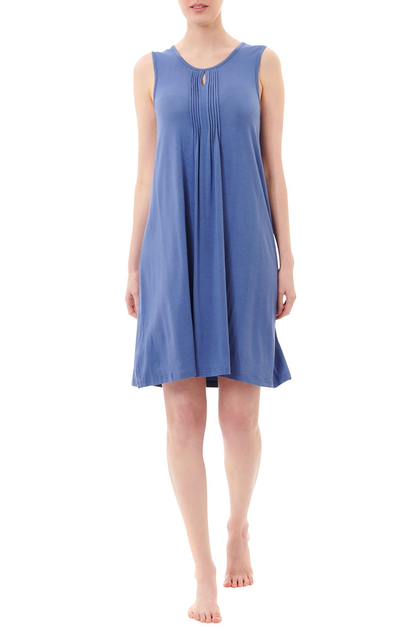 Blueberry Sleeveless Nightie