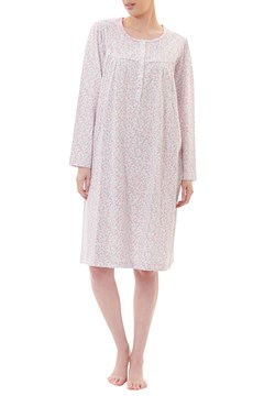 Mae Jersey Knit Short Nightie PINK 1