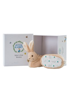Peter Rabbit Baby's First Booties Set -