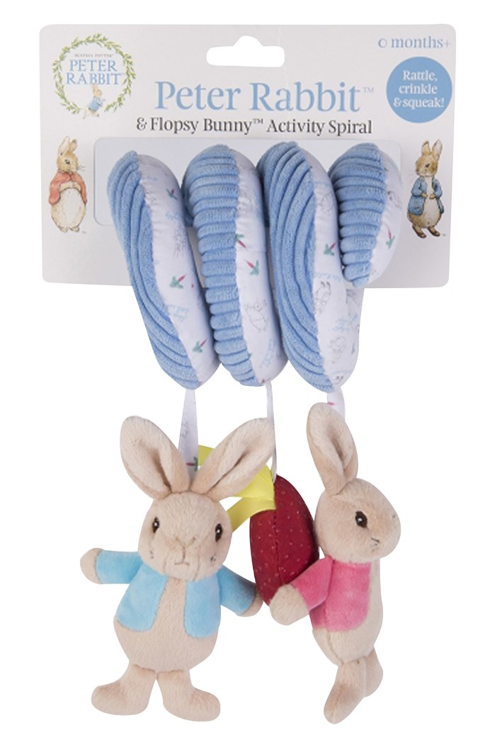 Peter Rabbit Activity Spiral