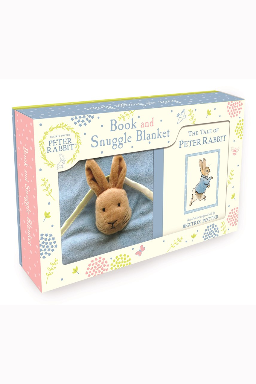 Peter Rabbit Book & Snuggle Blanket