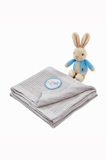Peter Rabbit Soft Toy & Blanket