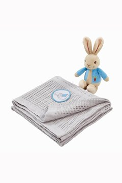 Peter Rabbit Soft Toy & Blanket 1