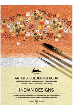 Indian Designs Colouring Book 1