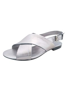 Omega Leather Sandal SILVER 1