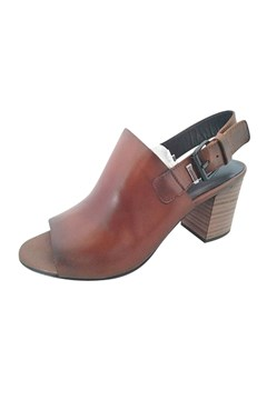 Salvaje Leather Mule Sling Back Heel CUERO 1