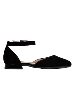 Flat With Ankle Strap BLACK 1