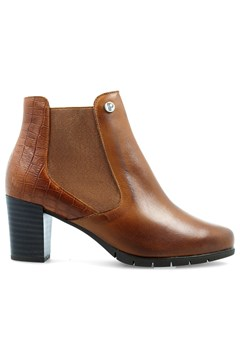 Heeled Boot TAN 1