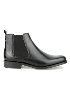 Ankle Boot Flat With Elastic BLACK 1