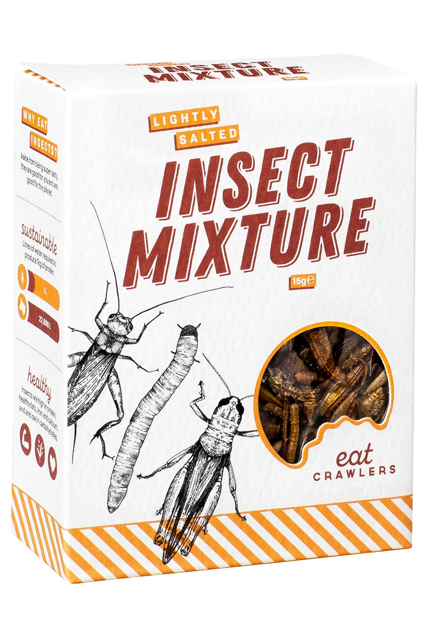 Lightly Salted Insect Mixture