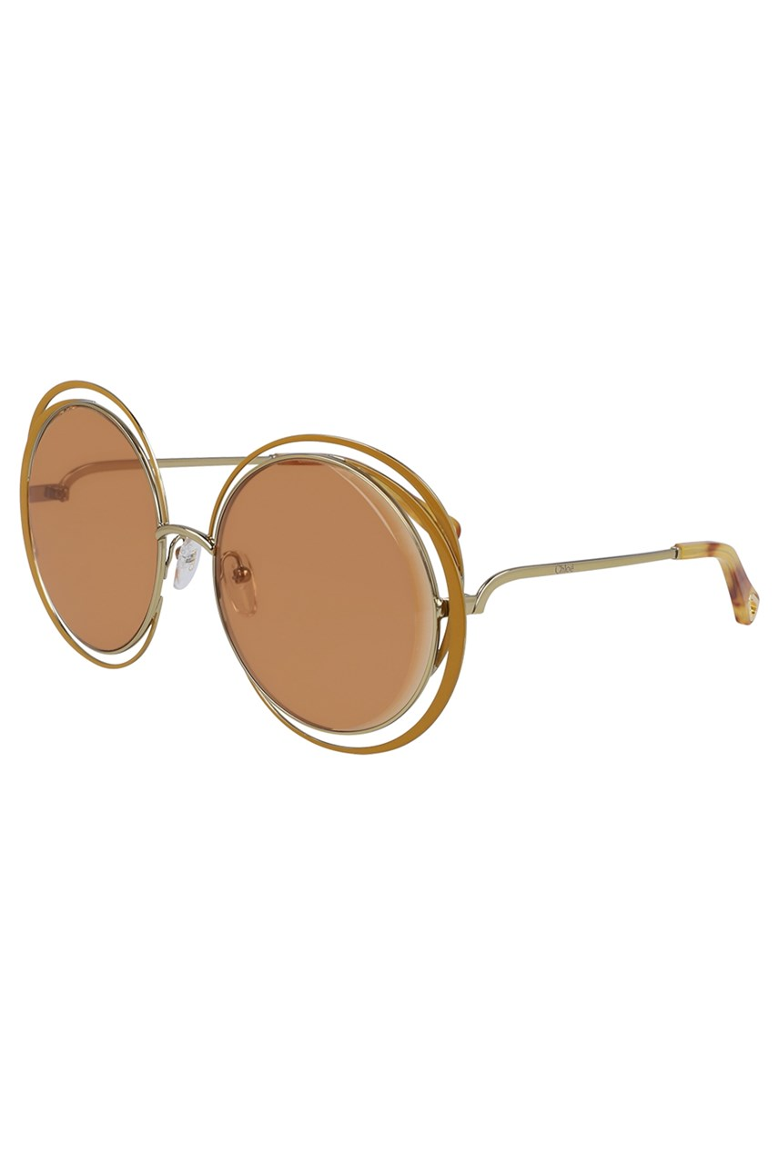 Carlina Round Metal Sunglasses
