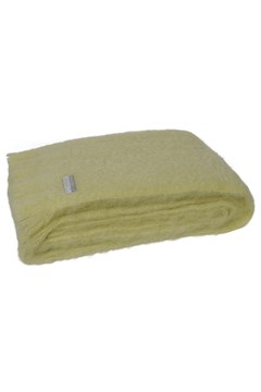 Windermere Mohair Throw AVOCADO 1
