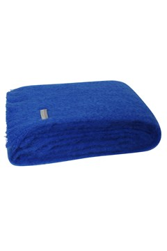 Windermere Mohair Throw COBALT BLUE 1