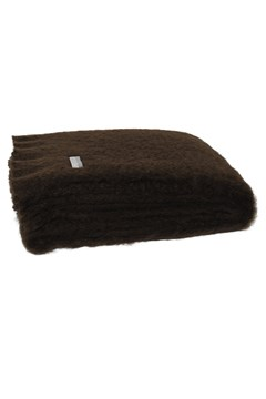 Windermere Mohair Throw CHOCOLATE 1