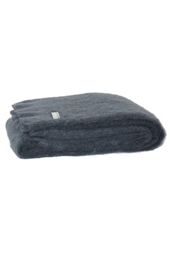 Windermere Mohair Throw CHARCOAL 1