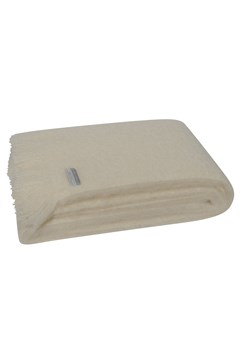 Windermere Mohair Throw CREAM 1
