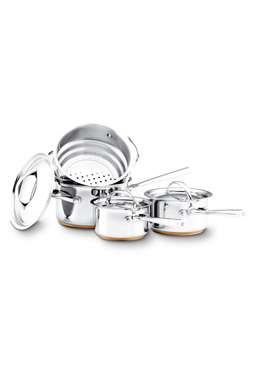 'Per Vita' 4-Piece Cookware Set