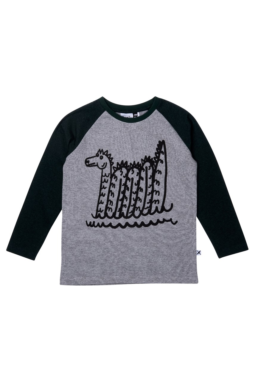 Sea Monster Raglan Tee