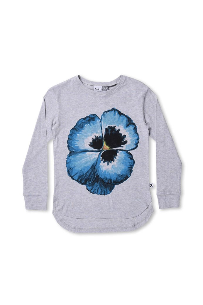 Painted Pansy Tee